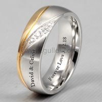 https://www.gullei.com/custom-name-mens-gold-plated-titanium-wedding-band.html