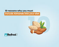 Almonds are one of the most popular tree nuts in the world and rightly so, given their nutrient-dense properties. Check our blog article to know why you must include it in your diet.