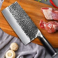 Hand Forged Chef Knife Chinese Cleaver Home Cooking Kitchen Tool $97.30