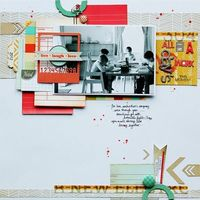 layout of the week... studio calico