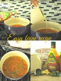 Easy brine recipe for a juicy Thanksgiving Turkey