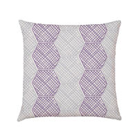 Honeycomb Ash Cushion  A distinctive hexagonal pattern is formed with watercolour, reminiscent of timeless bee creations. A dazzling design for a stand out home. Also available in Cobalt.  Our 100% natural cotton cushion is woven and digitally pri...