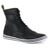 Nanny State - Brogue Leather Boot - Black Soft Leather Uppers Classic Brogue Styling Embossed Logo On Heel   Click here for our Size Info Click here for our Delivery Info Click here for our Returns Info Book http://www.comparestoreprices.co.uk/shoes/nann...