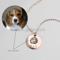 Personalized Photo Necklace Gift for Pet Lovers https://www.gullei.com/personalized-photo-necklace-gift-for-pet-lovers.html