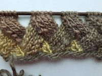 �–� Knit with eliZZZa * Entrelac in Rows without Turning Work * Video #01 * Patchwork knitting - YouTube