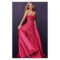 Jovani - 45061 Strapless Sweetheart A-line Dress - Designer Party Dress & Formal Gown