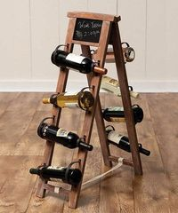 Look at this #zulilyfind! Chalkboard Wine Holder #zulilyfinds