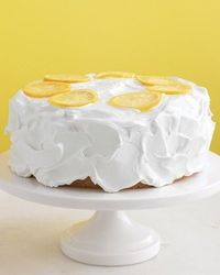 Lemon adds a welcome brightness to lemon chiffon cake, glazed lemon pound cake, layer cake with lemon curd filling, and many more cake varieties.