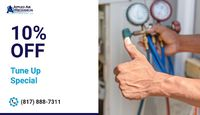 Applied Air Mechanical is providing 10% Off on tune-up service.Contact us at 817-888-7311 to grab the deal