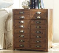 Side Table from Pottery Barn....use as a jewelry armoire...maybe even stack two together.