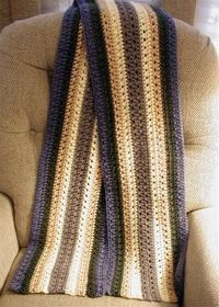 Great Guy's Scarf: free pattern
