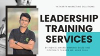 Yatharth Marketing Solutions is among the best Leadership Development Training companies based in Ahmedabad, Bangalore, Pune, Mumbai, India & Dubai offers Leadership Training Programs for small and medium-size corporate firms.
