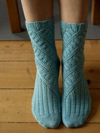 maelstrom socks (purchase sock pattern $6)