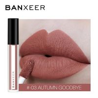 �Ÿ˜�BANXEER Lipgloss Matte 8 Colors Lip Gloss Velvety Lipstick Liquid Matte Waterproof Lip Tint Full & rich Sexy Lip Makeup Cosmetic�Ÿ˜� $6.54