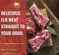Beck & Bulow provides all kinds of meat delivered straight to your door. We provide all types of buffalo, elk, chicken, lamb and wild boar meats.Beck & Bulow is one of the top pioneer in delivering high quality buffalo,elk,lamb and wild boar with ...