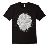 Color Me Abstract Doodle DIY Coloring T-shirt