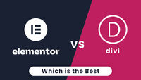 Are you confused to choose Divi or Elementor? After seeing this infographic you will know which page builder is the best option for you.