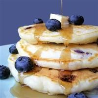 Todd's Famous Blueberry Pancakes, All Recipes. These are THE best blueberry pancakes I've ever made.