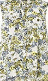 Dorothy Perkins Womens White Floral Sleeveless Shirt- White White 60s floral print sleeveless shirt with a body length of 66cm. 100% Polyester. Machine washable. http://www.comparestoreprices.co.uk//dorothy-perkins-womens-white-floral-sleeveless-shirt...