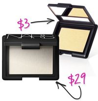 Splurge vs Steal: ELF Makeup Dupes You Can't Resist ELF's blushes are a bit looser than other blushes, but many of the shades are dupes for more expensive options from NARS and MAC. Perhaps my favorite is a highlighter, Albatross/Gotta Glow. Che...