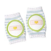 Baby knee pads. I've seen similar ones before but these are really cute!