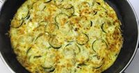 Caramelized Onion Frittata with Artichoke Hearts, Zucchini and Goat Cheese | The Splendid Table