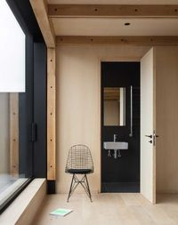 Nicholas Szczepaniak Architects completed the Union Wharf project in London that's a minimalist home located within a converted factory building complete with a