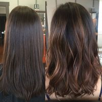 Image result for chocolate mocha brown hair soft balayage