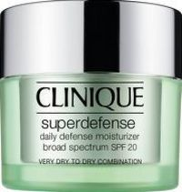Clinique Moisturisers Superdefense Very Dry to A smart daily defence and so refreshingly lightweight, Clinique Superdefense is a pleasure to wear every day. It starts with comfortable UVA/UVB protection. Next, antioxidants. Then,smart ingredients http://w...