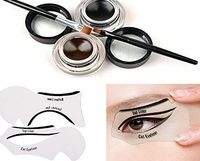 Tinabless 2 in 1 Brown and Black Waterproof Gel Eyeliner Set with Makeup Eyebrow Brush Cat Eye Liner Stencil No description (Barcode EAN = 0756320029411). http://www.comparestoreprices.co.uk/december-2016-week-1/tinabless-2-in-1-brown-and-black-wa...