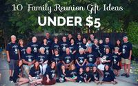 If you're holding a family reunion event, then take a moment to check out these family reunion gift ideas. While gifts are not a requirement of family reunions,