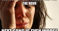 First World Problems: pandora