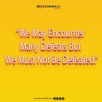A spirit of positive thinking and sheer determination can never fail to open the doors of his/her dreams. visit us at - www.bricksnwall.com #SundayMotivation #MotivationPost #StayMotivated #StayEnergetic #Bricksnwall #RealEstateAdvisor #RealEstate #Real...