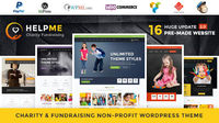 """ Charity wordpress theme ""