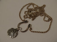 James Avery Sterling Silver Charm Necklace With Sand Dollar Charm. $138.00