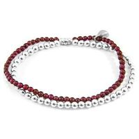 The Red Garnet Harmony Silver and Stone Bracelet was both designed and skilfully handcrafted completely in Great Britain, In Quality We Trust. For the Modern Journeyman (and woman), ANCHOR & CREW takes ownership of an exploratory lifestyle and...