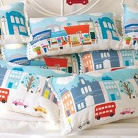 london cushion by michelle mason must make some LA ones for xmas gifts