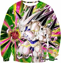 Dragon Ball Z Sweatshirt - The Strongest Shadow Dragon Omega Shenron $29.99