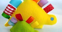 Dinosaurs and other cute softie ideas, I wish I could sew, these are super cute....