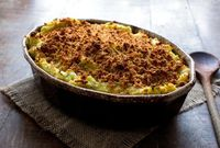 This casserole may upset some mashed potato purists, but take heart: one bite and they'll be won over The genius of this recipe, besides its utter deliciousness