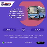 Plan your Business Trip with Upgraded Business Class AC Sleeper