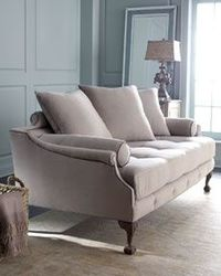 I love this color! It's so elegant for the formal living room