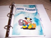 My Disney Planning Binder - Page 11 - The DIS Discussion Forums - DISboards.com