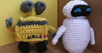 WALL-E and Eve-- Now with patterns