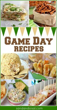 Game Day Recipes- Feature Friday