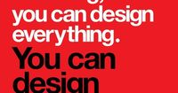 �€œFive phrases to live by�€ iis a recognition of to the outstanding job and contribution of Massimo Vignelli to the world of graphic design.