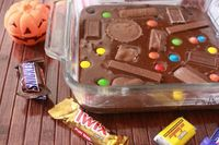 yummy idea of what to do with some of that of Halloween candy! :)