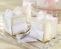 """Take Note! New Baby On the Block!'�'� Sticky Notes"