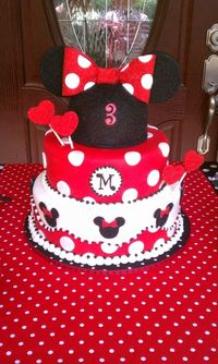 Minnie Mouse, all time icon! My great niece is having her first birthday and it's gonna b a Minnie Mouse birthday! Fun, Fun, FUN!!
