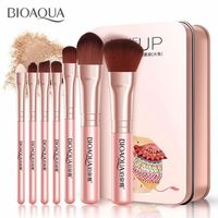 �Ÿ˜�BIOAQUA 7PCS/SET Pro Women Facial Makeup Brushes Face Cosmetic Beauty Eye Shadow Foundation Blush Brush Make Up Brush Tool Kit�Ÿ˜� $8.97